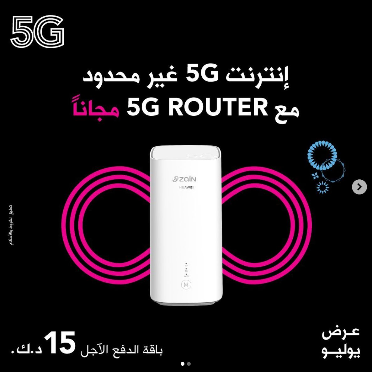 The Most Attractive Offer By Zain 5G Unlimited (10TB) for 15 KD in Kuwait -  Ryukers